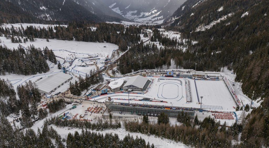 INWIT accende i Campionati del Mondo di Biathlon