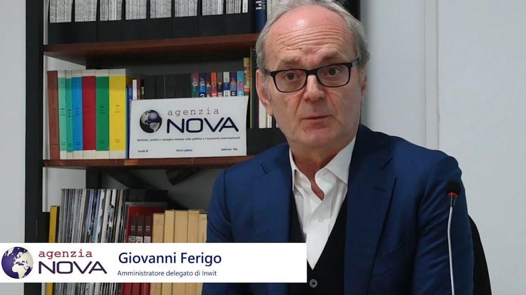 """Tlc: soluzioni 4.0, torri smart e sostenibilità, Ferigo (Inwit) illustra a """"Nova"""" il Piano industriale al 2023"""